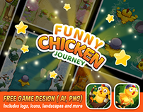 FREE GAME DESIGN - FUNNY CHICKEN JOURNEY
