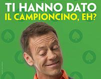 """""""Quando il gioco si fa duro"""" Casino Campaign"""