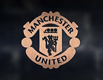 3D AE Manchester United Logo