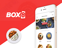 Box8 :: Food ordering & delivery app UI/Ux Design