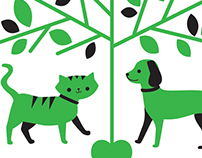 Walk in the Park Pet Care Logo