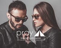 PRAY EYEWEAR (See Trough Nature) - Ad Campaign Shootin