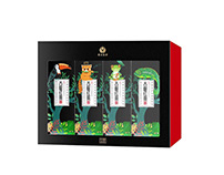 black tea packaging design
