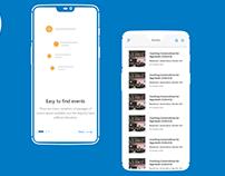 CLIC Event Booking App Design