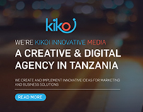 Kikoi Innovative Media Website