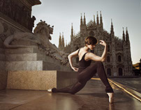 "Urban Ballerina photoshoot in Milano - ""InMotion"" 2016"