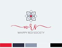 Whippy Red Society Organizer Brand Identity