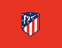 Atlético de Madrid: visual identity