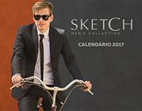 Calendário 2017 - Sketch Men's Collection