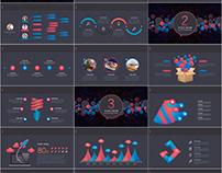 27+ Best 3D infographics business PowerPoint template