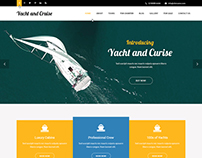 Yacht and Cruise WordPress theme