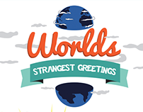 Worlds Strangest Greeting Infographic