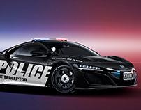 2020 Honda NSX Police Interceptor