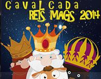 Cartel Cabalgata Reyes Magos 2014