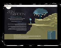 Zen garden. School assignment
