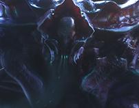 JIKAN - Creature concept art