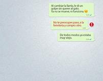 "Prints Telcel ""Mensajes Importantes"""
