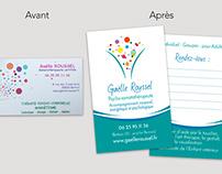 Logo et carte de visite relookés !