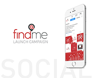 findmeksa - Social Media Launch Campaign