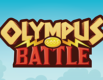 OLYMPUS GODS BATTLE LOGO