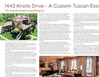 Editorial on a Tuscan Estate