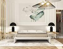 Light classic bedroom