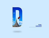 Dhaka, Bangladesh (creative design)