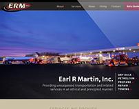 Earl R. Martin Trucking Website