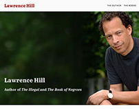 Lawrence Hill, Author: Website