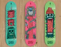 Lumber - Logo & Skateboard Decks