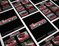 Advertising Material for Printing X-Treme Group