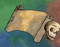 El Esqueleto De Visita