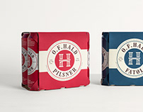 O.F. Hald Brewery Identity