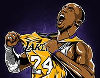 Kobe Bryant Illustration (Индивид)