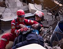 El Cambray II. Landslide, Guatemala.