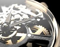 Modeling practice: Skeleton Watch