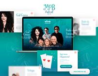 MPB Festival Belém Branding, Social Media + Site