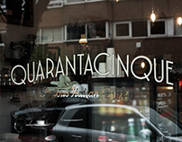"Quarantacinque ""Serious Italian Coffee"""