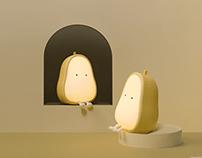 PEAR NIGHT LAMP