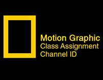 National Geographic Channel Id After effects