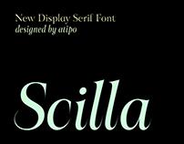 Scilla Display Font