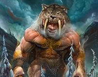 Grey Wolf Totem Giant