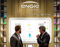 Exhibition Stand for Engie Electrabel @ Batibouw 2017