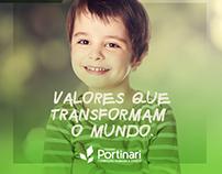Campanha de rematrícula - Colégio Portinari
