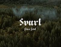 Svart Free Font
