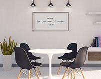 Minimal Room _ 3D Render