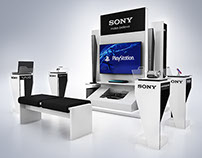 Sony // Experience Zone Design