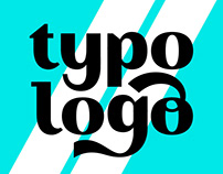 Typo Logo. Projector course may 2019