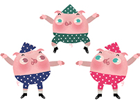 The Three Little Pigs - APP TAFFIMAI