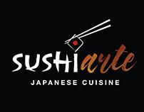 Sushi Arte - Identidade Visual e Cardápio